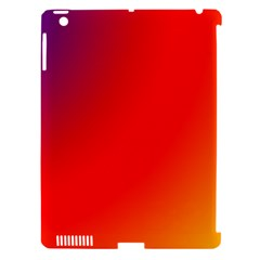 Rainbow Background Apple Ipad 3/4 Hardshell Case (compatible With Smart Cover)
