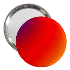 Rainbow Background 3  Handbag Mirrors