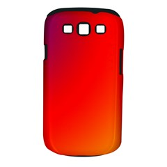 Rainbow Background Samsung Galaxy S Iii Classic Hardshell Case (pc+silicone)