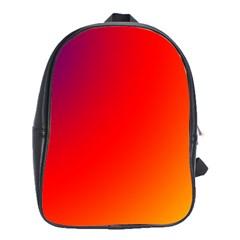 Rainbow Background School Bags (xl)