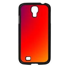 Rainbow Background Samsung Galaxy S4 I9500/ I9505 Case (black)