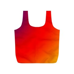 Rainbow Background Full Print Recycle Bags (s)