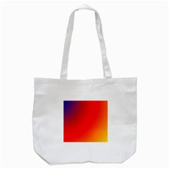 Rainbow Background Tote Bag (white)