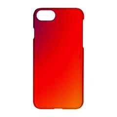 Rainbow Background Apple Iphone 7 Hardshell Case