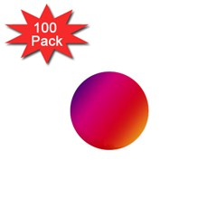 Rainbow Colors 1  Mini Buttons (100 Pack)