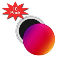 Rainbow Colors 1 75  Magnets (10 Pack)