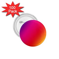 Rainbow Colors 1 75  Buttons (100 Pack)