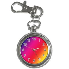 Rainbow Colors Key Chain Watches
