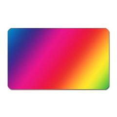 Rainbow Colors Magnet (rectangular)