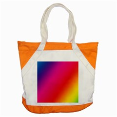 Rainbow Colors Accent Tote Bag