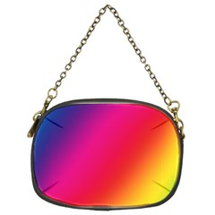 Rainbow Colors Chain Purses (two Sides)