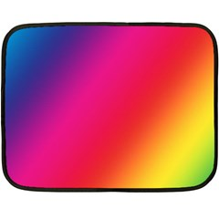 Rainbow Colors Fleece Blanket (mini)