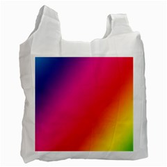 Rainbow Colors Recycle Bag (two Side)
