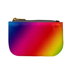 Rainbow Colors Mini Coin Purses