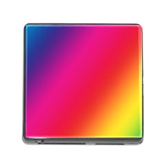 Rainbow Colors Memory Card Reader (square)