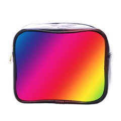 Rainbow Colors Mini Toiletries Bags