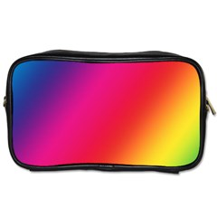 Rainbow Colors Toiletries Bags 2 Side