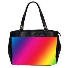 Rainbow Colors Office Handbags (2 Sides)