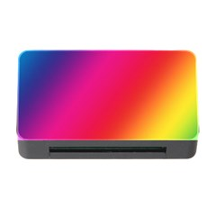 Rainbow Colors Memory Card Reader With Cf
