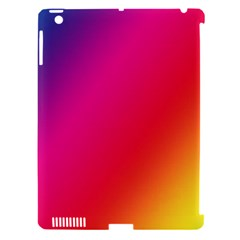 Rainbow Colors Apple Ipad 3/4 Hardshell Case (compatible With Smart Cover)