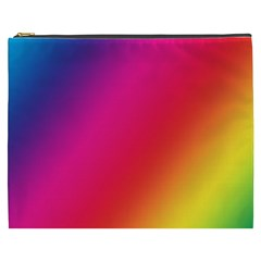 Rainbow Colors Cosmetic Bag (XXXL)