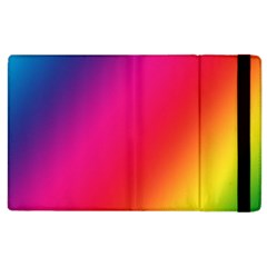 Rainbow Colors Apple Ipad 2 Flip Case