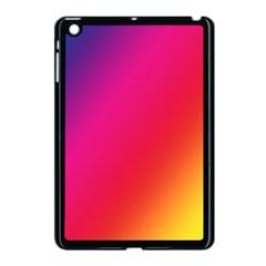 Rainbow Colors Apple Ipad Mini Case (black)