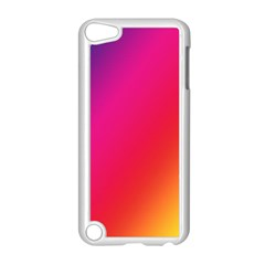 Rainbow Colors Apple Ipod Touch 5 Case (white)