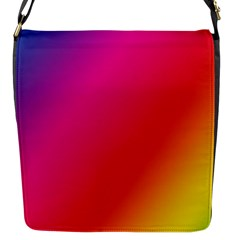Rainbow Colors Flap Messenger Bag (s)