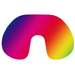 Rainbow Colors Travel Neck Pillows