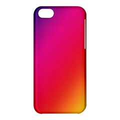 Rainbow Colors Apple Iphone 5c Hardshell Case