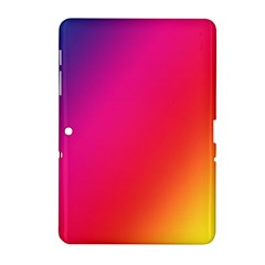 Rainbow Colors Samsung Galaxy Tab 2 (10 1 ) P5100 Hardshell Case