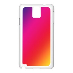 Rainbow Colors Samsung Galaxy Note 3 N9005 Case (white)
