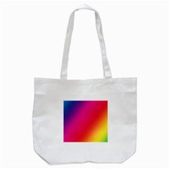 Rainbow Colors Tote Bag (white)
