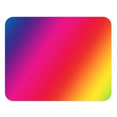 Rainbow Colors Double Sided Flano Blanket (large)