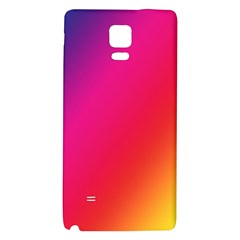 Rainbow Colors Galaxy Note 4 Back Case