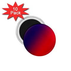Rainbow Two Background 1 75  Magnets (10 Pack)