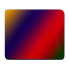 Rainbow Two Background Large Mousepads