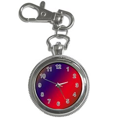Rainbow Two Background Key Chain Watches