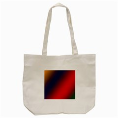 Rainbow Two Background Tote Bag (cream)