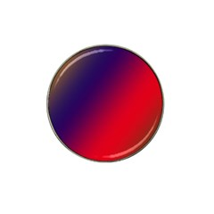 Rainbow Two Background Hat Clip Ball Marker