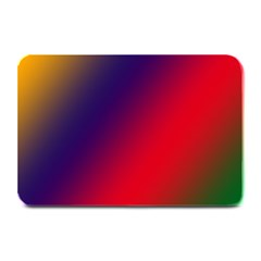 Rainbow Two Background Plate Mats
