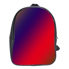 Rainbow Two Background School Bags(large)