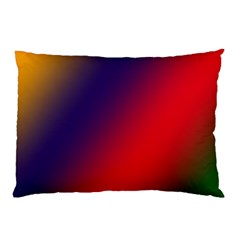 Rainbow Two Background Pillow Case (two Sides)