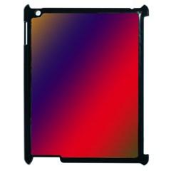 Rainbow Two Background Apple Ipad 2 Case (black)