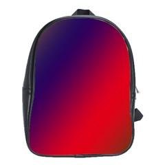 Rainbow Two Background School Bags (xl)