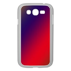 Rainbow Two Background Samsung Galaxy Grand Duos I9082 Case (white)