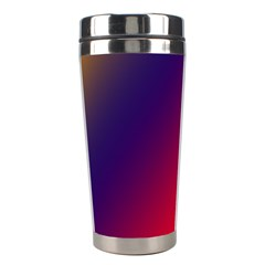 Rainbow Two Background Stainless Steel Travel Tumblers