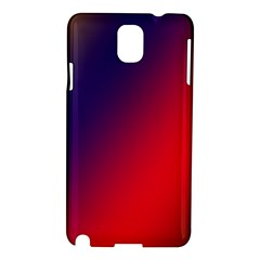 Rainbow Two Background Samsung Galaxy Note 3 N9005 Hardshell Case