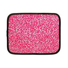 Template Deep Fluorescent Pink Netbook Case (small)